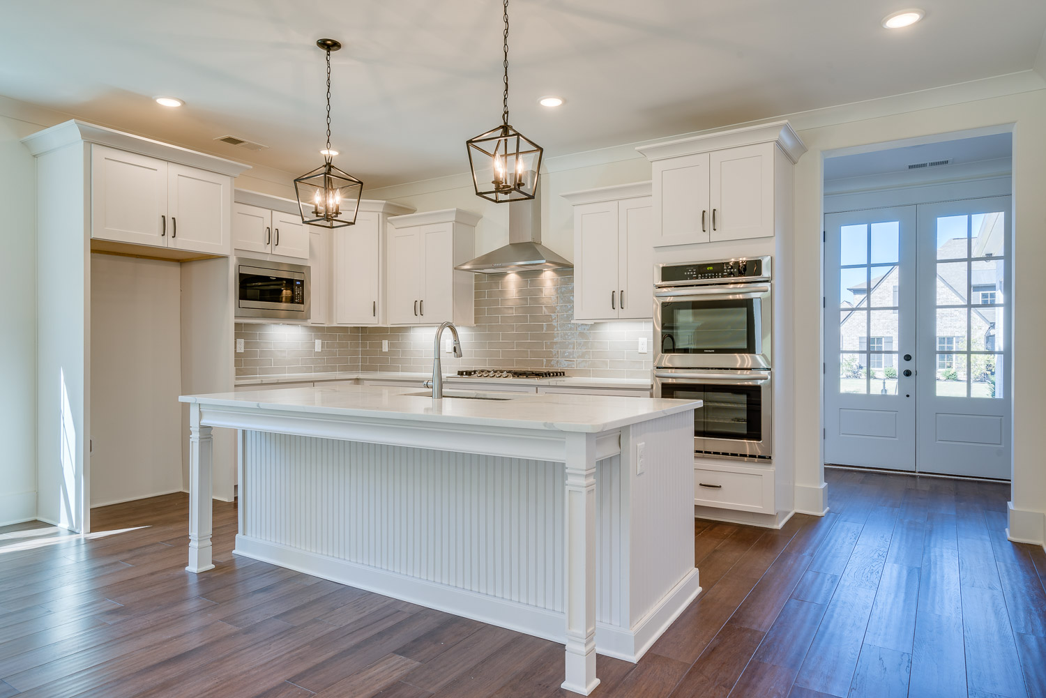 kitchen in home built by OakRun Homes