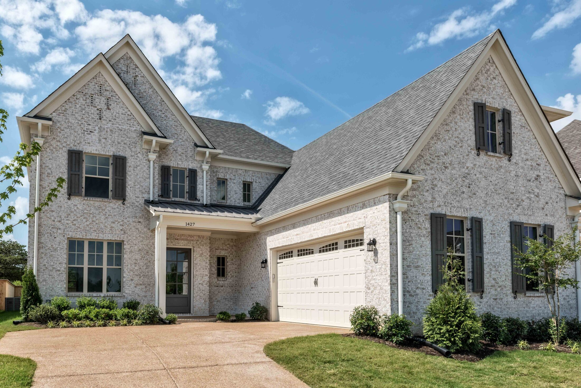 Custom Home Elevation by OakRun