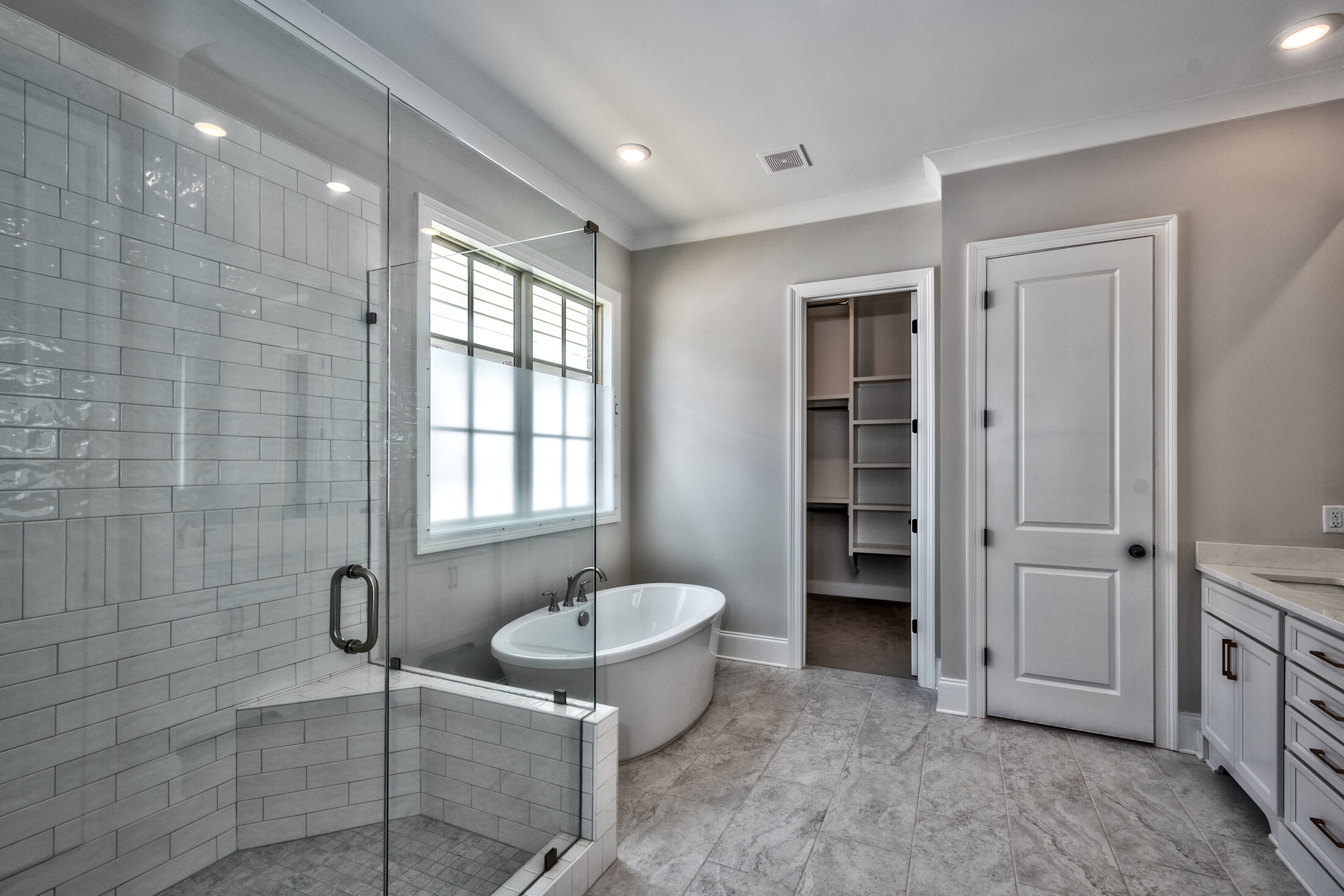 Master Bath in Custom New Tennessee Home